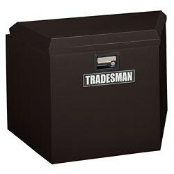 Tradesman 21  inch Trailer Tongue Box, Steel, Black