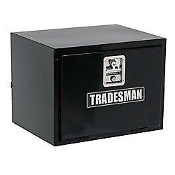 Tradesman 24  inch Underbody Truck Tool Box, Steel, Black