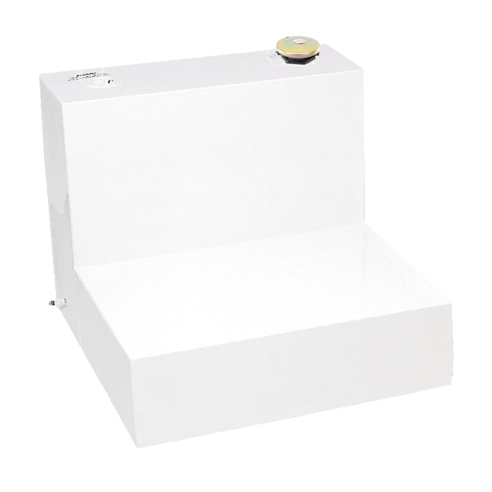 Any Size L Shape Storage Tank, White (48 Gallons)