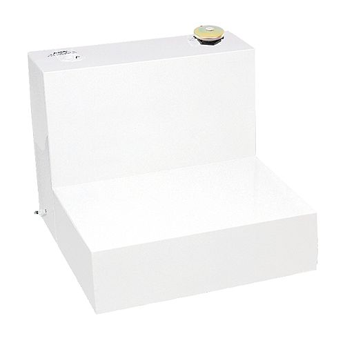 Tradesman 181L/48-Gallon Any Size L-Shaped Storage Tank in White
