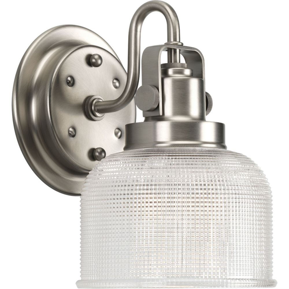 Archie Collection 1-light Antique Nickel Bath Light