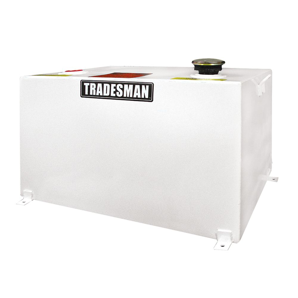 Any Size Rectangular Storage Tank, White (55 Gallons)