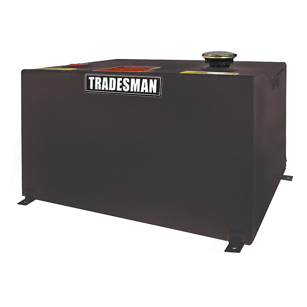 Réservoir rectangulaire tout format, noir (55 gallons)