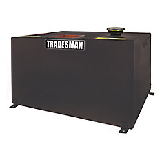 Any Size Rectangular Storage Tank, Black (55 Gallons)