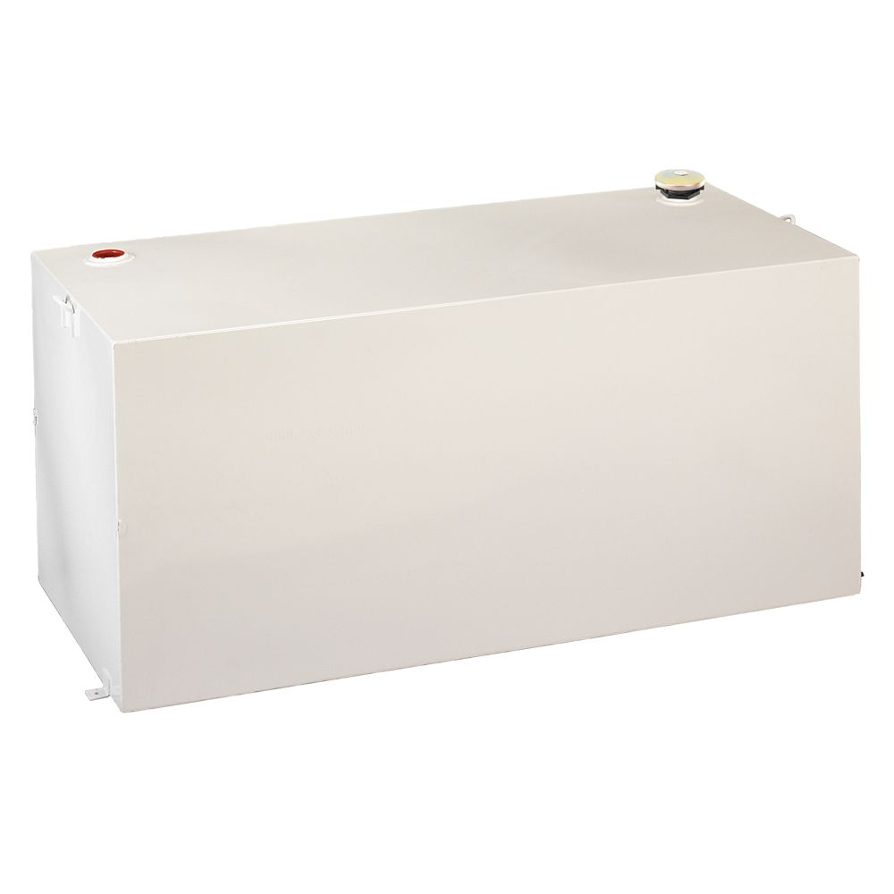 Full Size Rectangular Storage Tank, White (190 Gallons)