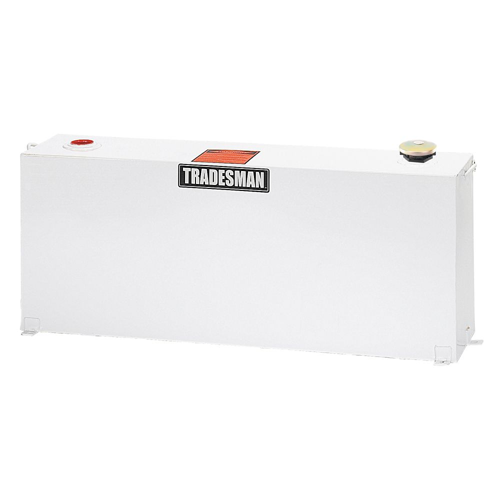 Full-Mid Size Vertical Tank, White (50 Gallons)