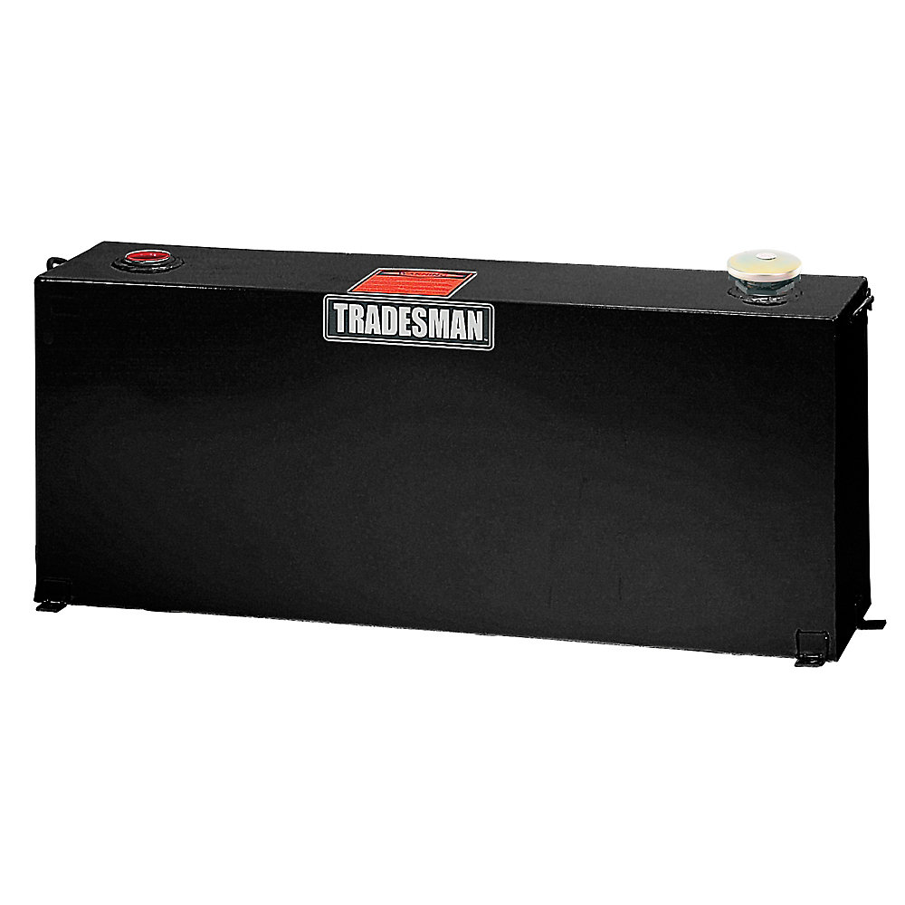 Full-Mid Size Vertical Tank, Black (50 Gallons)