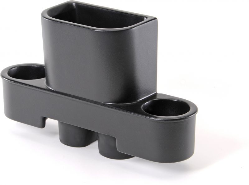 Trash Can & Cup Holder - Jeep 07-10 JK Wrangler - Black