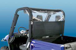 WindStopper  - Yamaha Rhino - Black Nylon with Clear Rear Window