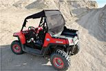 Coupe-vent -  filet noir - rasoir polaris rzr