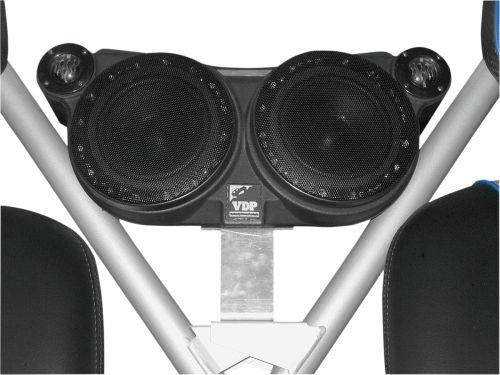 Four (4) Speaker Sound Wedge - Polaris RZR Razor - Between the Seats Mount
