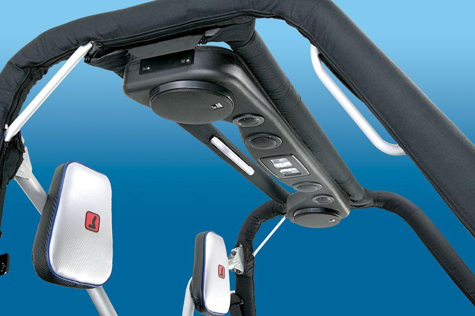 Six Speaker UTV Sounds Bar - Brackets Included: Rhino, Ranger, Mule, Prowler, & Kubota