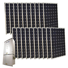 5,000-Watt Monocrystalline PV Grid-Tied Solar Power Kit