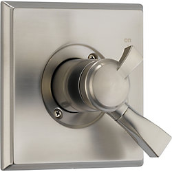Dryden 1-Handle Diverter Valve Trim Kit in Stainless (Valve Not Included)
