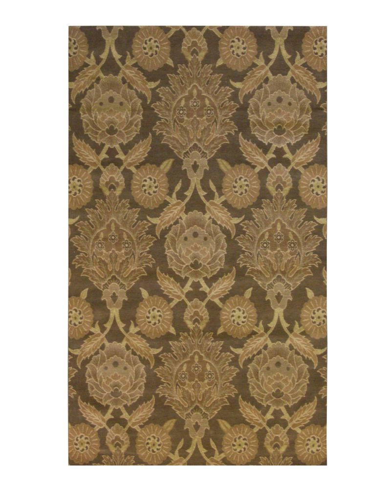 Espresso Jewel  4 Ft. x6 Ft. Area Rug