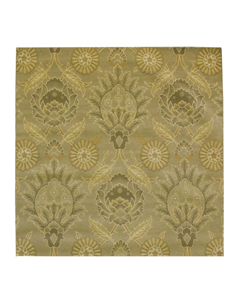 Olive Jewel 4 Ft. x 4 Ft. Area Rug JEWEL4OV in Canada