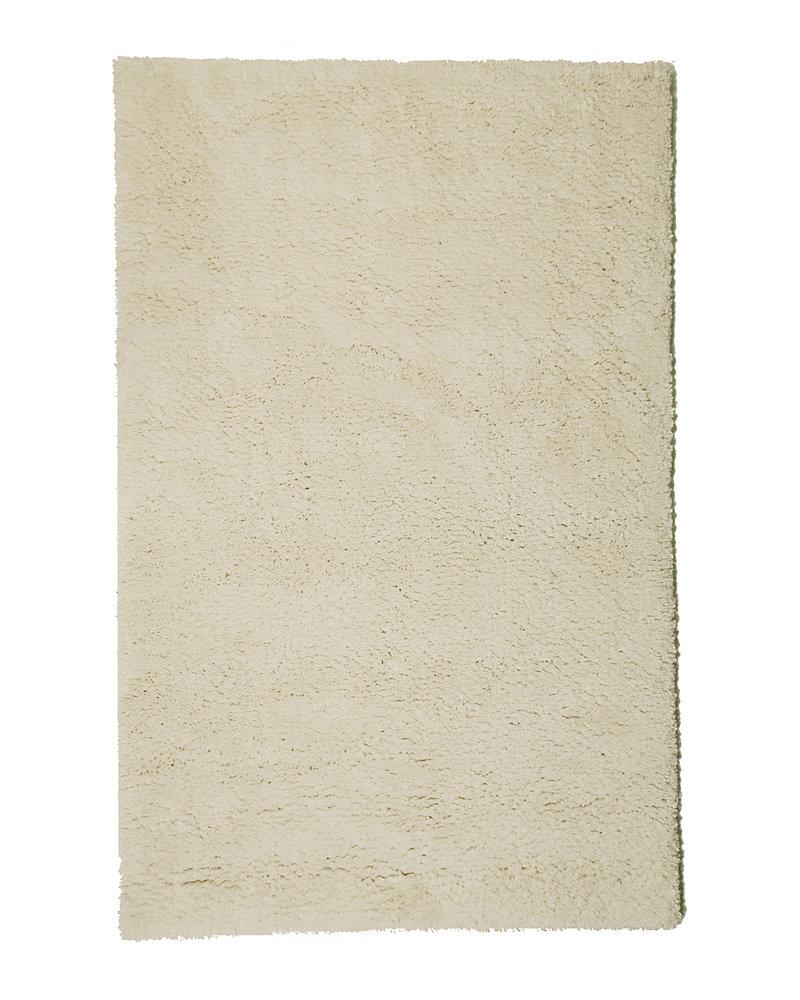 Arctic Shag Off-White 4 ft. x 6 ft. Indoor Shag Rectangular Area Rug