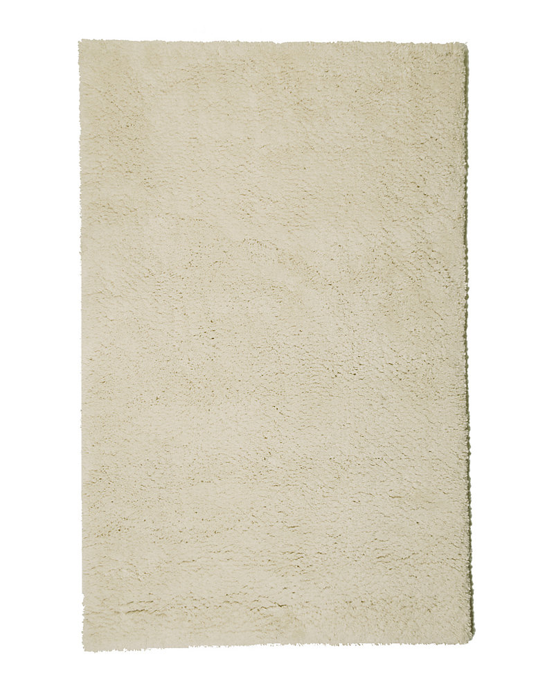 Arctic Shag Off-White 6 ft. x 9 ft. Indoor Shag Rectangular Area Rug