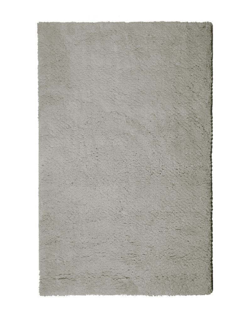 Grey Arctic Shag 6 Ft. x 9 Ft. Area Rug