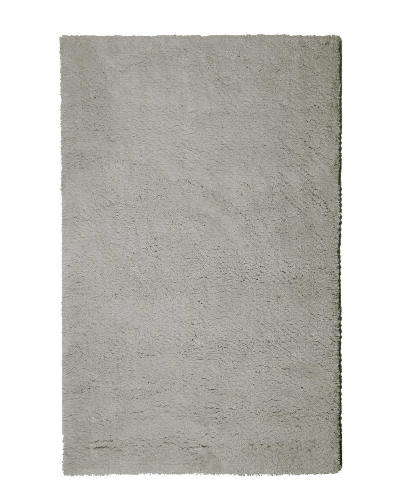 Lanart Rug Arctic Shag Grey 6 ft. x 9 ft. Indoor Shag Rectangular Area Rug