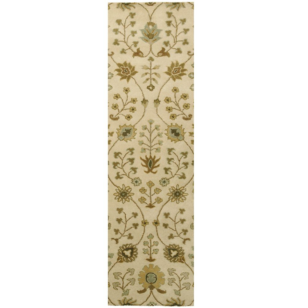 Cream Provencal  2 Ft. 6 In. x 8 Ft. Area Rug