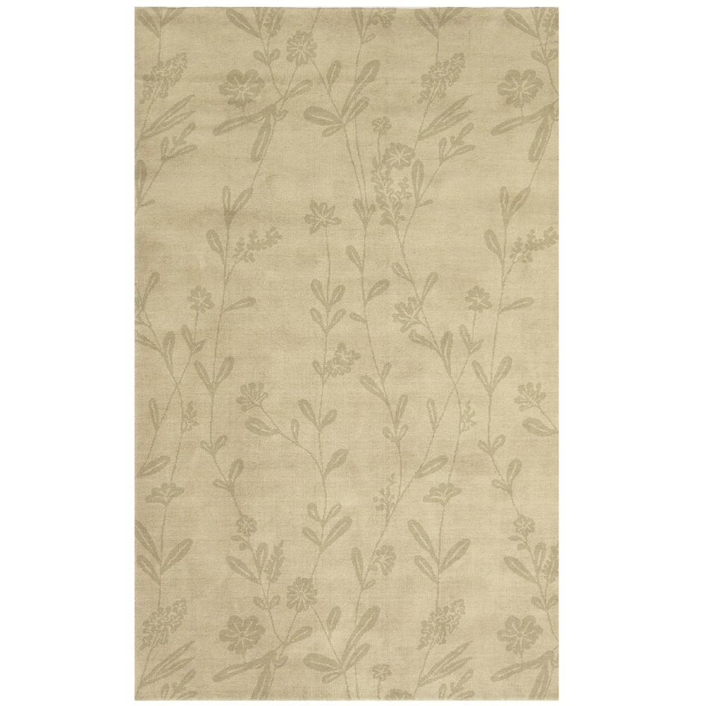 Natural Wisteria Area Rug 2 Feet 6 Inches x 8 Feet