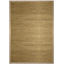 Lanart Rug Flamenco Beige Tan 4 ft. x 6 ft. Indoor Textured Rectangular Area Rug