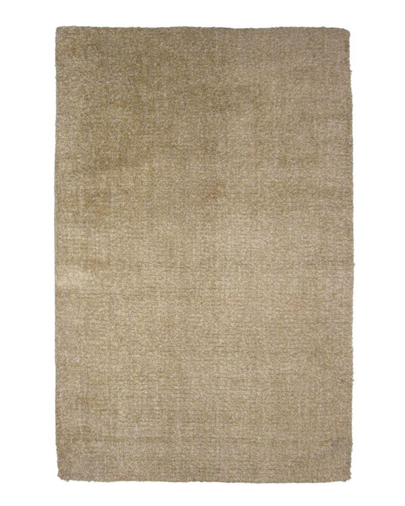 Natural Fleece 4 Ft. x 6 Ft. Area Rug
