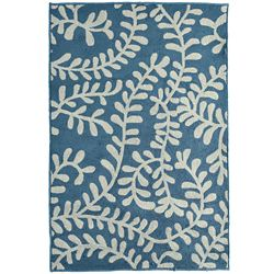 Lanart Rug Fiona Blue 8 ft. x 10 ft. Indoor Transitional Rectangular Area Rug