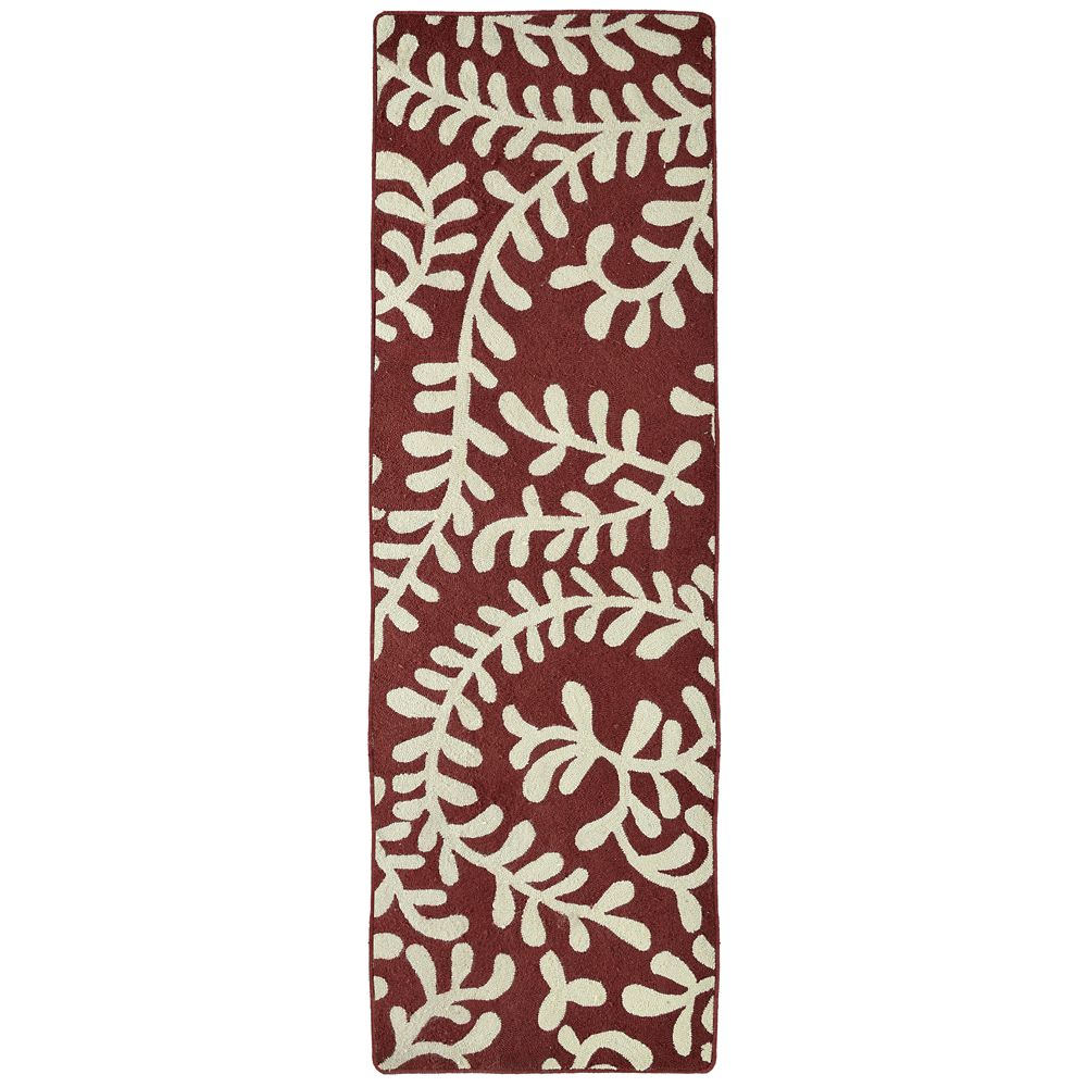Red Fiona 2 Ft. 6 In. x 8 Ft. Area Rug