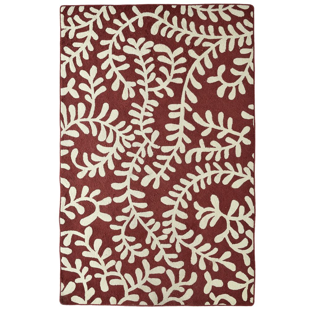 Red Fiona 4 Ft. x 6 Ft. Area Rug