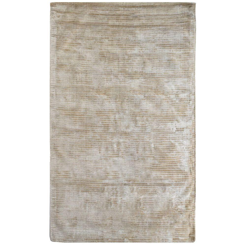 Lanart Rug Luminous Off-White 9 ft. x 12 ft. Indoor Textured Rectangular Area Rug