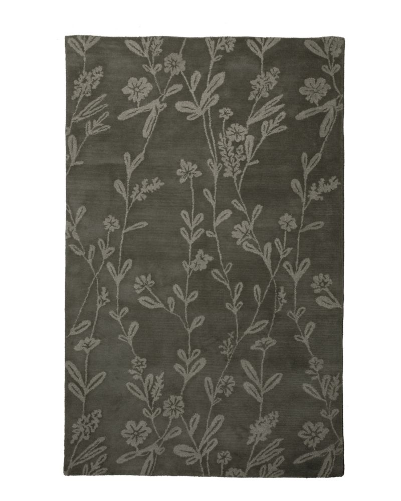 Slate Wisteria 9 Ft. x 12 Ft. Area Rug WIST912 Canada Discount