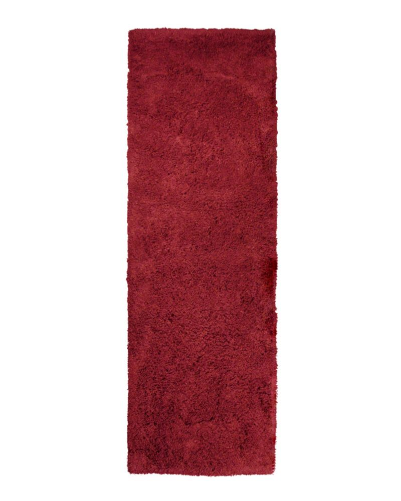 Red Kashmir 2 Ft. 6 In. x 8 Ft. Area Rug