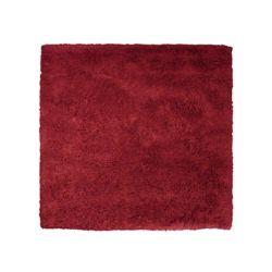 Lanart Rug Kashmir Red 5 ft. x 5 ft. Indoor Shag Square Area Rug