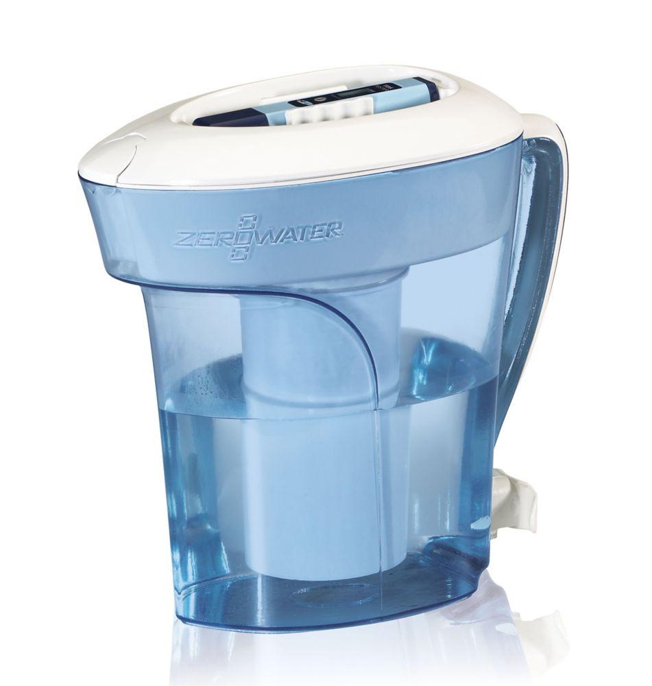 Zero Water - Pichet de 10 tasses avec mesure MDS gratuite
