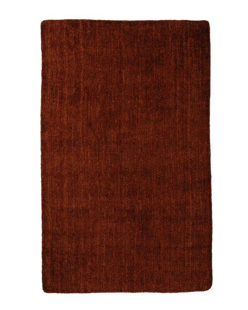 Tapis Rouille Fleece Aera Rug 6 Pi. x 9 Pi.