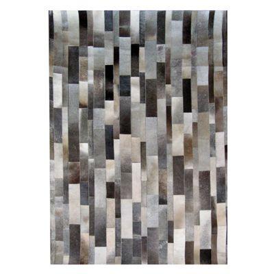 Gris Hide Stripes Tapis 9 Pieds x 12 Pieds