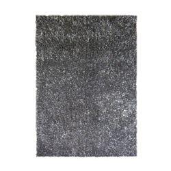 Lanart Rug Ribbon Shag Grey 5 ft. x 7 ft. 6-inch Indoor Shag Rectangular Area Rug