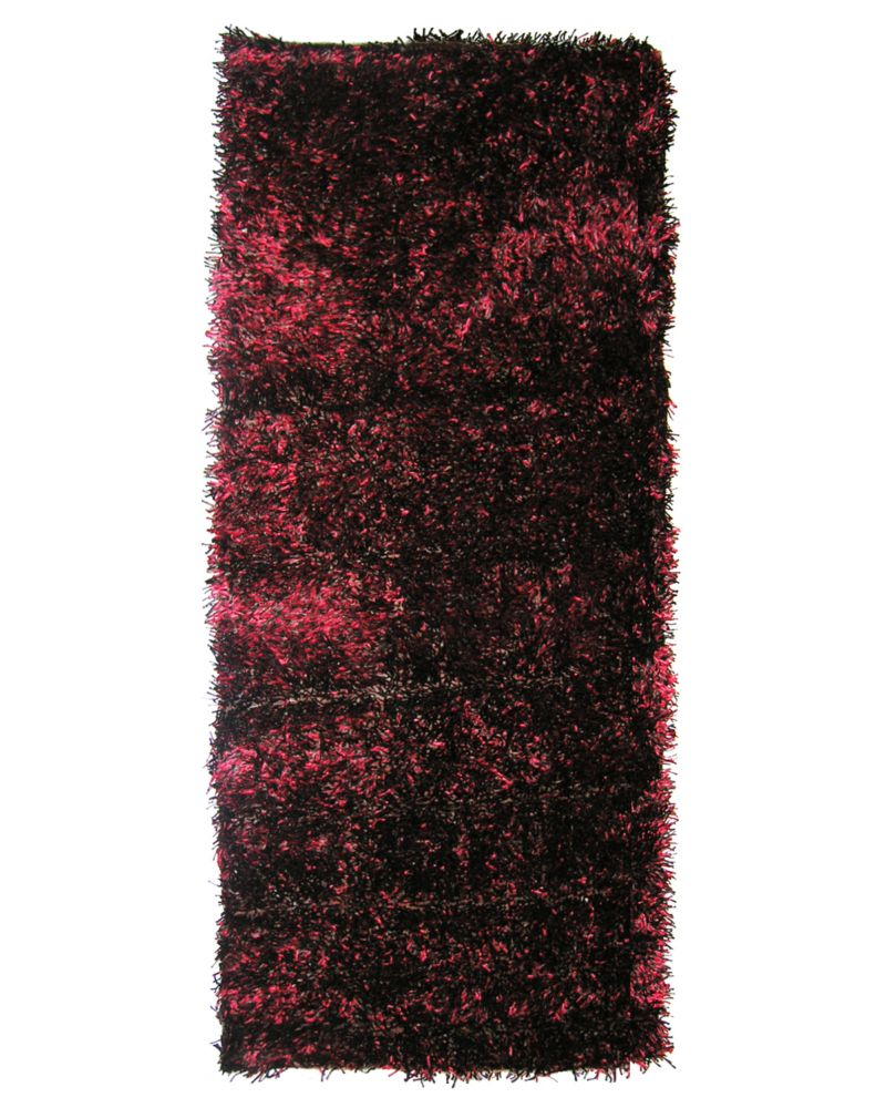 Spice Ribbon Shag 2 Ft. 6 In. x 8 Ft. Area Rug