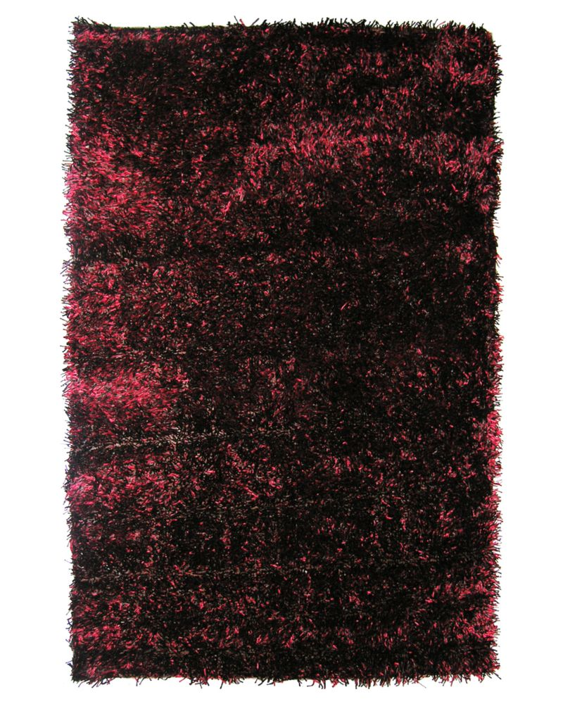 Spice Ribbon Shag 4 Ft. x 6 Ft. Area Rug