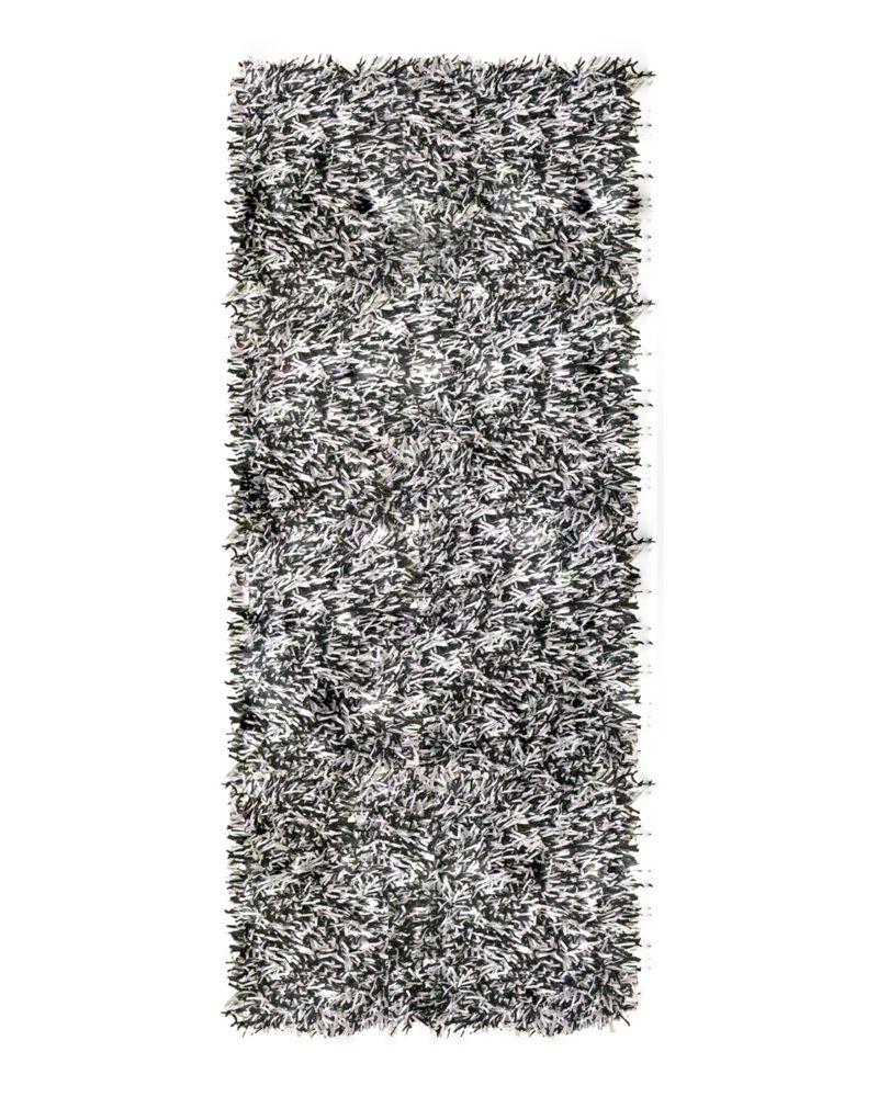 Tapis Tuxedo Ribbon Shag 2 Pi. 6 Po. x 8 Pi.