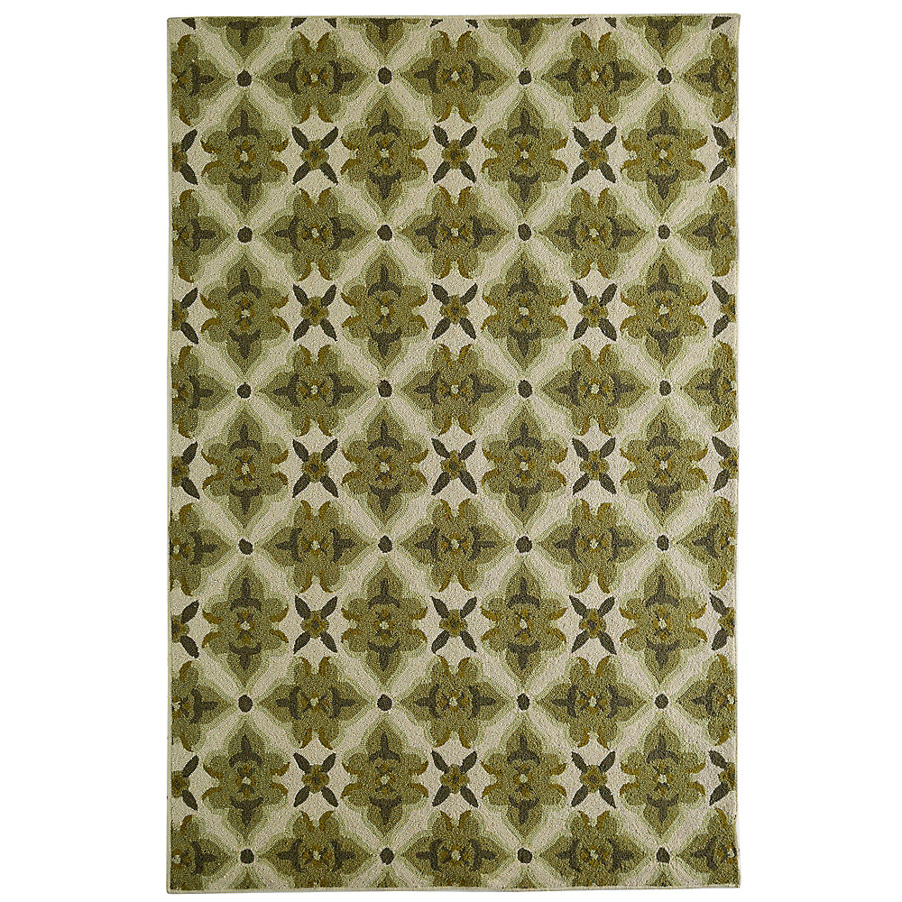Muskoka Green 5 ft. x 7 ft. 6-inch Indoor Transitional Rectangular Area Rug