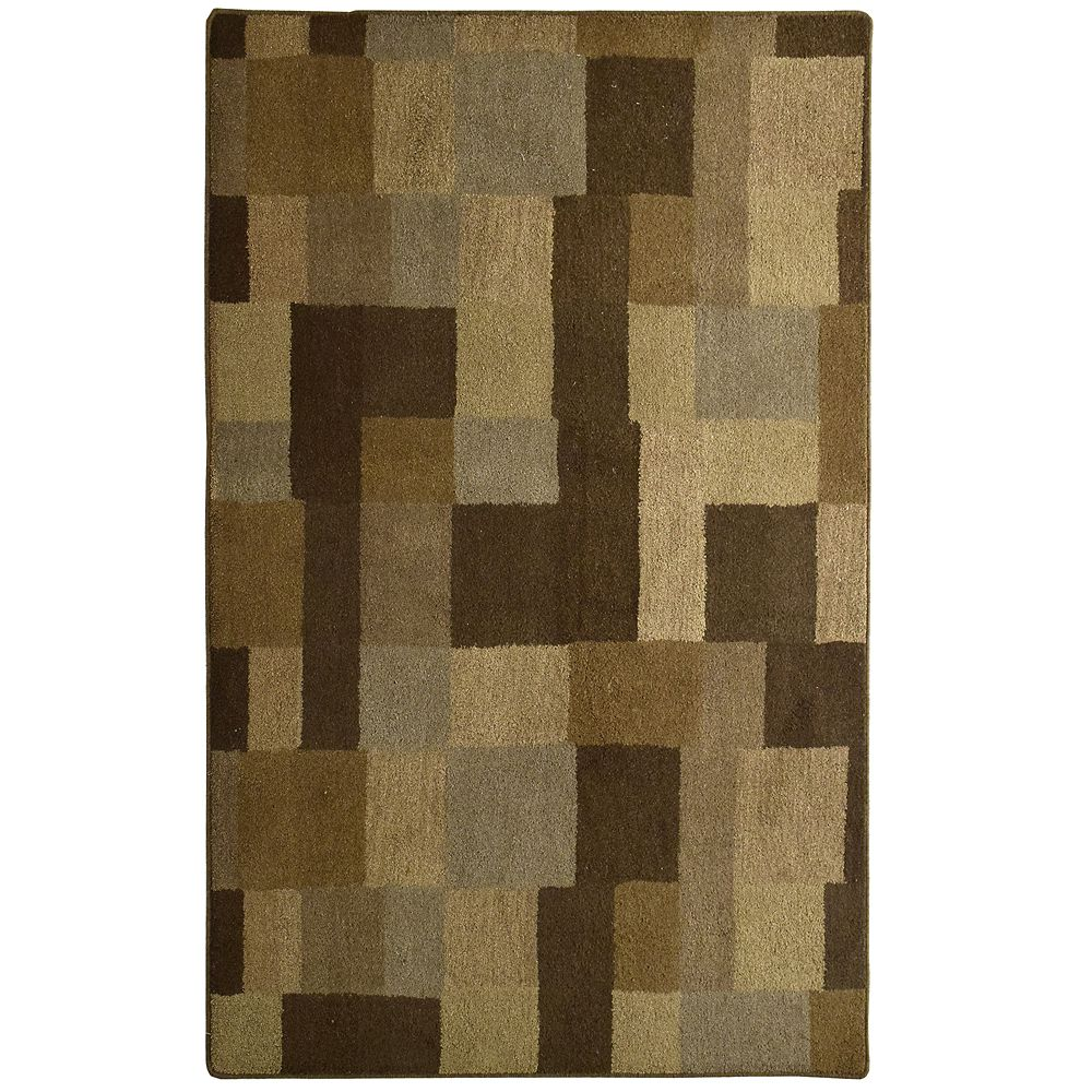 Cocoa Highlands Area Rug 3 Feet x 4 Feet 6 Inch