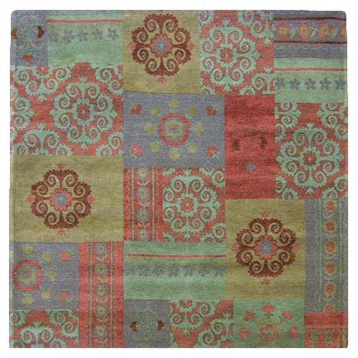 Gem Gypsy Area Rug  4 Feet x 4 Feet