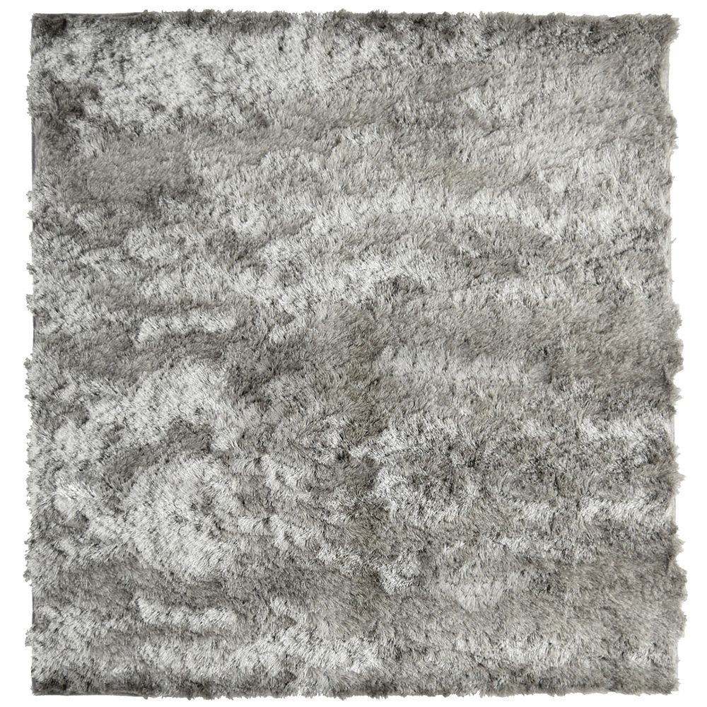 Grey So Silky 5 Ft. x 5 Ft. Area Rug SILKY5GY in Canada