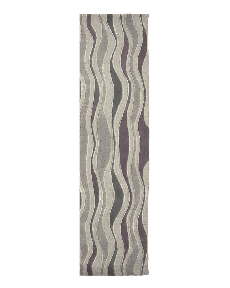 Sonora Grey 2 ft. x 5 ft. Indoor Contemporary Runner