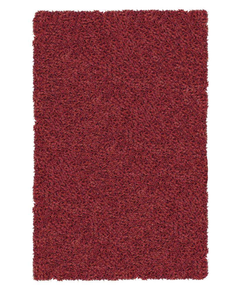 Berry Shag-a-liscious 5 Ft. x 7 Ft. Area Rug