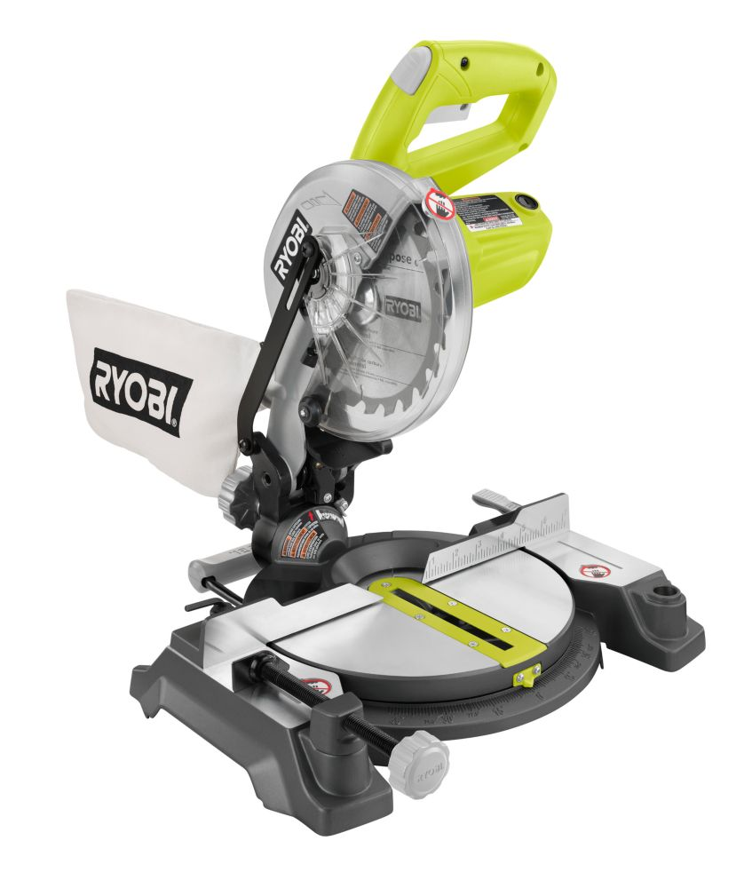 9 Amp 7-1/4-Inch Compound Miter Saw with Laser
