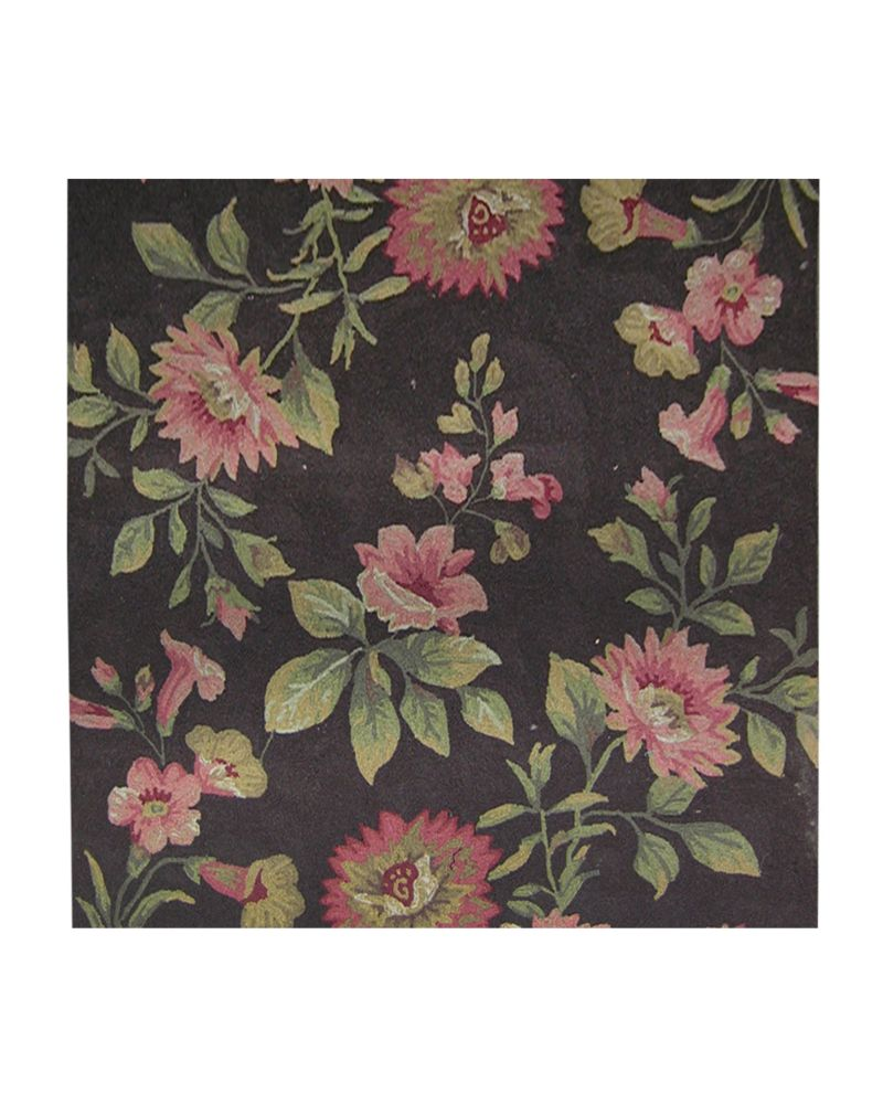 Chocolate Martha's Vineyard 5 Ft. x 5 Ft. Area Rug